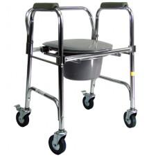 Cadeira de Rodas para higienização/ ALUMINIO