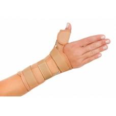Órtese curta punho com tala para polegar